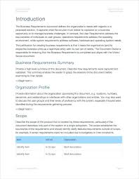 Business Requirements Document Overview Requirment Requirement ...