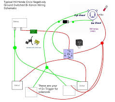 xenon wiring diagram xenon wiring diagrams online h4 9007 bi xenon wiring harness diagram