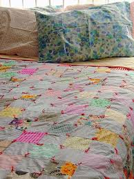 24 best Quilts that are tied images on Pinterest | Bed duvets ... & simple quilt, red ties, backing terra cotta and red binding (like geraniums  in Adamdwight.com