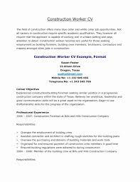 Objective For Resume Pipefitter Examples Beautiful Gallery