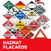 Hazardous Materials Labeling Chart Hazmat Labels Hazmat Placards And Hazmat Markings A