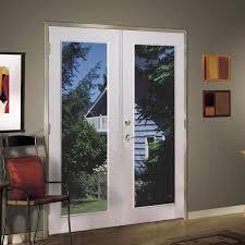 Shop ReliaBilt® 6' ReliaBilt French Patio Door Vinyl 1-Lite Low E ...