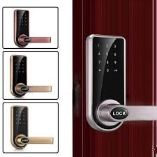 DIGITAL ELECTRONIC CODE Door Lock Touch Screen Security Password ...