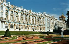%name کاخ با شکوه کاترین یا دهکده تزارها ( تزارسکویه سِلو) Tsarskoye Selo