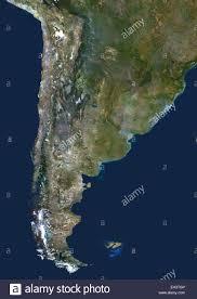 Il Cile e Argentina, True Color satellitare immagine. Il Cile e Argentina,  true color immagine satellitare. Questa immagine è stata compilata dal d  Foto stock - Alamy