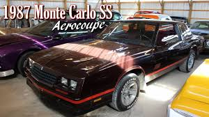 1987 Chevrolet Monte Carlo SS Aerocoupe - YouTube