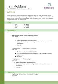 free resume templates why hybrid resumes are the best resume examples of functional resumes
