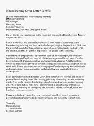 Housekeeping Resume Free Template Nursing Cover Letter Samples