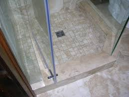 bathroom tiled shower stall bathroom