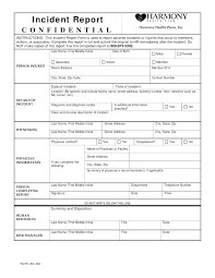 Forms For Word New Incident Reporting Forms Sample Templates Security Report Template