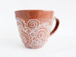 Coffee Mug Painting Ideas Ceramic