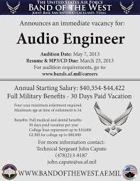 Studio Recording Engineer Sample Resume Best Solutions Of Audio Engineer Sample Resume With Studio Recording 12