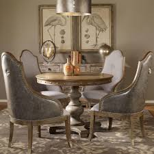 marius french country round wood silver stud dining table kathy kuo home view full size