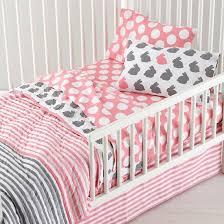 modern toddler bedding. Beautiful Toddler Grey And Pink Toddler Bedding Intended Modern T