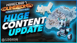 Huge Minecraft Dungeons Update