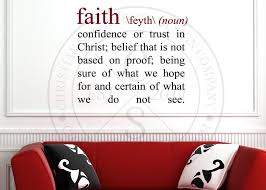 faith definition vinyl wall statement vinyl def faith definition vinyl wall statement hover to zoom