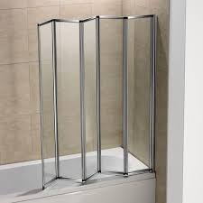 amusing 1 2 3 4 5 folds curved folding bath shower screen glass door panel with splendid accordion glass shower door