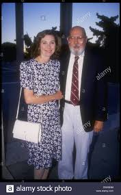 tv producer hollywood ca usa actress elinor donahue and husband tv producer