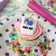 Whimsical Royal Icing Unicorn Cupcake Toppers With Free Printable