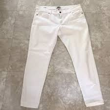 Cookie Johnson White Distressed Jeans 34