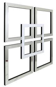 very attractive mirrored wall art elegant design montague white geo mirror cfs uk uk