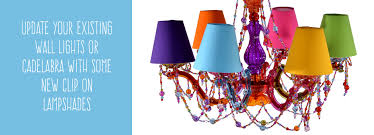 candle clip lampshades