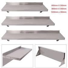 Image Decor Image Is Loading Commercialcateringstainlesssteelshelveskitchenwall Shelf Ebay Commercial Catering Stainless Steel Shelves Kitchen Wall Shelf 600
