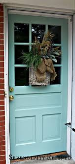 exterior door paint finish. but hate this color : benjamin moore exterior paint in historic covington blue a satin finish. door finish