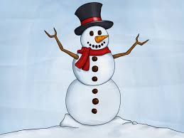 Christmas drawings #christmas see how to draw a cute snowman what youll need: How To Draw A Snowman 8 Steps With Pictures Wikihow