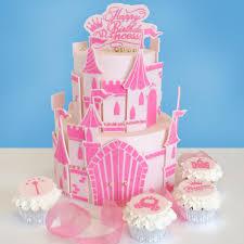 Princess Castle Cake And Cupcake Stencil Set Evil Cake Genius