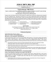 Project Manager Resume Summary Statement