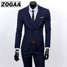 <b>ZOGAA</b> 2019 <b>Male</b> Wedding Dress Custom Made Groom Tuxedos ...
