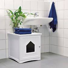 covered cat litter box furniture. unique cat enclosed cat litter box furniture hidden wooden covered white kitty  enclosure to s