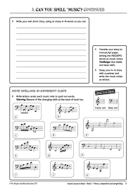 Music Writing Paper Downloadable Pdf Instant Lessons In Music Book 5 Theory Composition And Songwriting