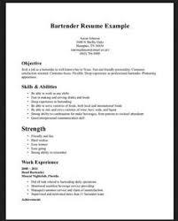 Bartender Resume Examples Elegant Nice Best College Student Resume