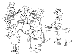 Small Picture Coloring Page Music coloring pages 11