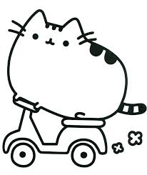 Fat Cat Coloring Pages Printable Baby On Lazy Fat Cat Garfield Swiss