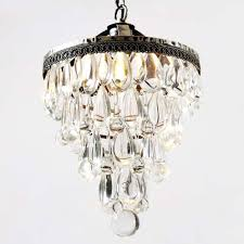 small crystal chandelier vintage wrought iron 14 1