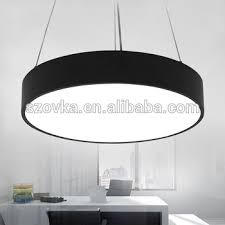 office chandelier lighting. led chandelier office lighting modern simple study restaurant round hanging line lamps commercial e
