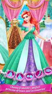 princess party salon fairytale dress up beauty spa makeover s game screenshot 4
