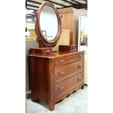 Dresser With Cabinet Davis Cabinet Co Cherry Dresser With Mirror Upscale Consignment