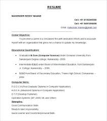 Download Resume Format 9 Resume Format Download Download Resume