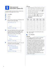 This pdf manual has 12 pages. 9 Enter Personal Information Station Id Enter Personal Information Station Id Konica Minolta Bizhub 20 User Manual Page 8 31 Original Mode