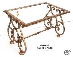 Tavoli Di Marmo Ebay : Base per tavolino in ferro battuto rifinito oro antico