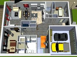 modern bungalow house designs and floor plans for small homes home attic philippines
