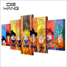 Dragon Ball Z Decorations 100 Piece Canvas Art Hd Print Painting Dragon Ball Z Picture Kid 40