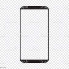 Smart Phone With Transparent Background ...