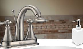 solid brass bathroom faucets. LUXEflo Solid Brass Bathroom Faucet: Faucet Faucets