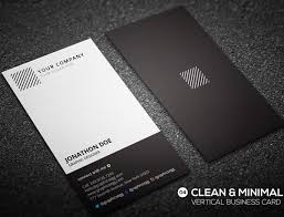 Graphic Design Business Cards Vertical Theveliger