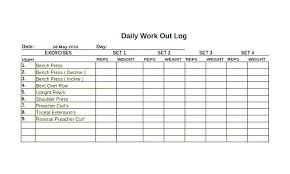 work out sheet for the gym free printable workout log exercise training logs answer